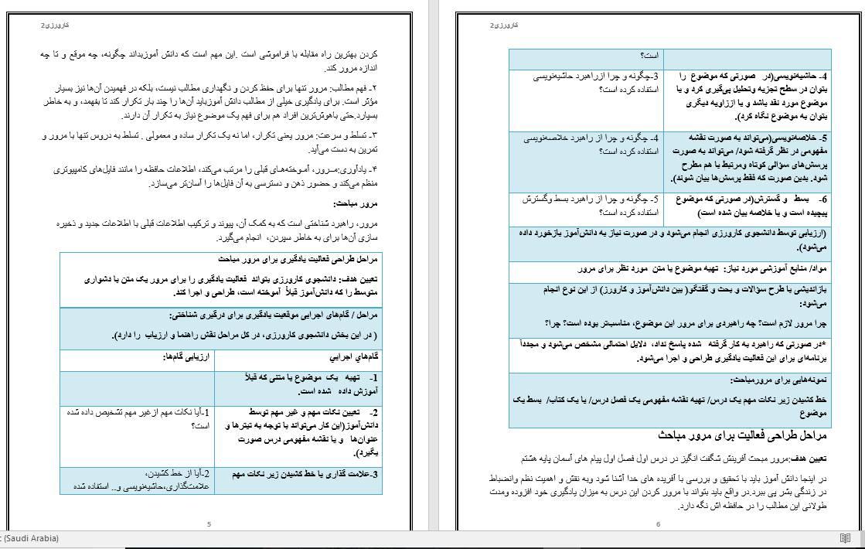 دانلود یک نمونه کارورزی 2 رشته الهیات ومعارف اسلامی