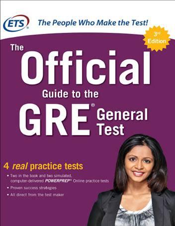 دانلود The Official Guide to the GRE General Test Third Edition