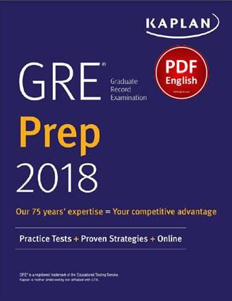 دانلود کتاب Kaplan GRE Prep 2018