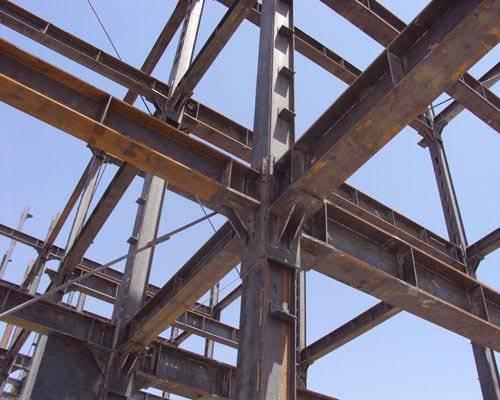 جزئیات تقویت سازه فولادی