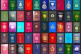 دانلود فایل لایه باز فتوشاپ پاسپورت تمام کشورها