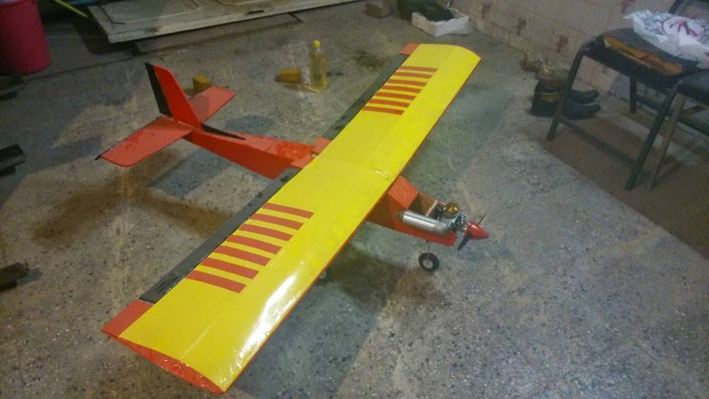 آموزش ساخت هواپیمای مدل ایگل