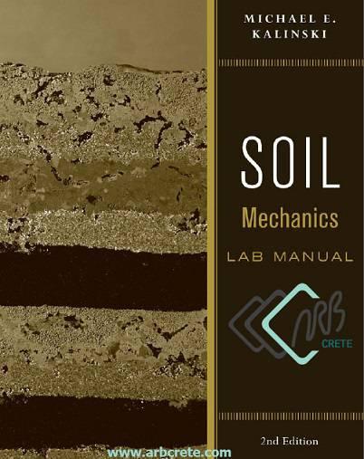 دانلود کتاب لاتین راهنمای آزمایشگاه مکانیک خاک کالینسکی