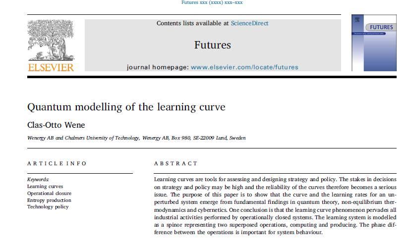 مقاله لاتین مدلسازی کوانتومی منحنی یادگیری با ترجمه فارسی