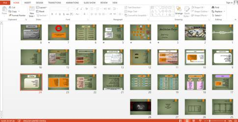 پاور پوینت برنامه فیزیکی بیمارستان  طرح ۴  طراحی معماری