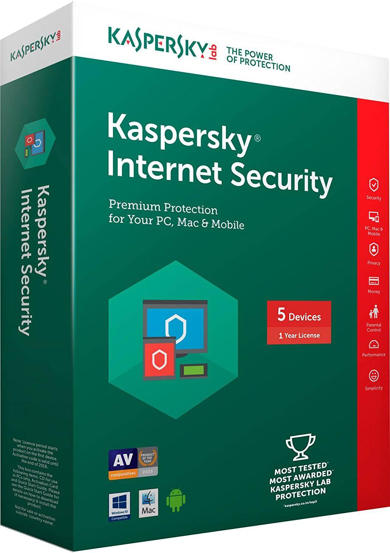 آنتی ویروس کسپرسکای اورجینال Kaspersky internet security 2019