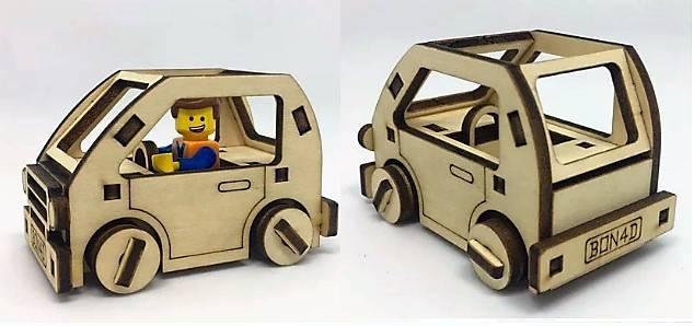 طرح ماشین کوچک