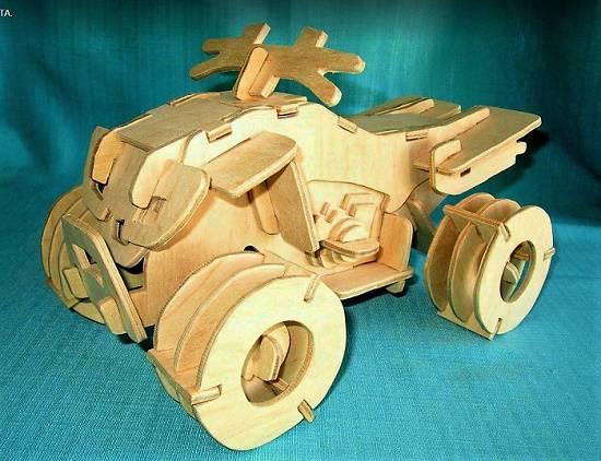 طرح موتور سیکلت 4 چرخ