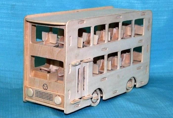 طرح اتوبوس دو طبقه