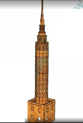 طرح برج قاهره