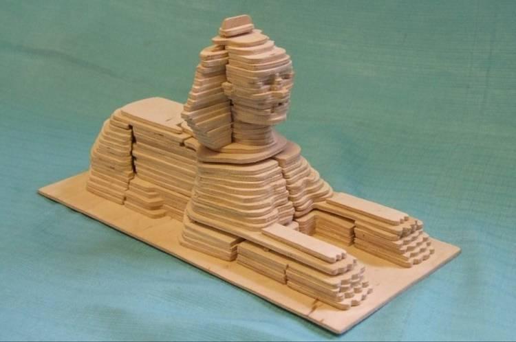 طرح مجسمه ابوالهول