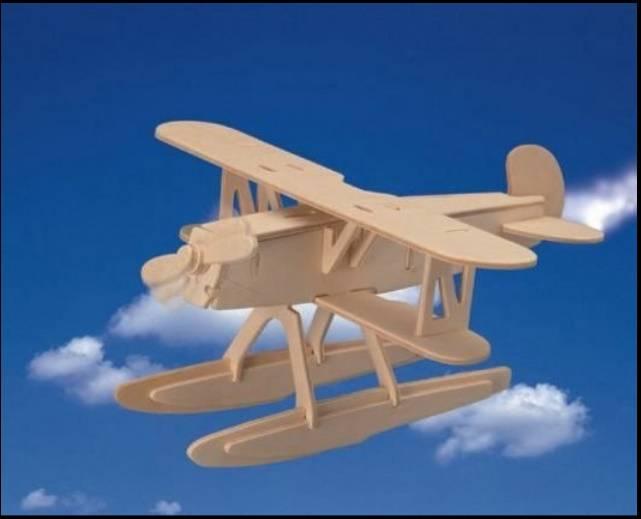 طرح معرق هواپیمای قدیمی