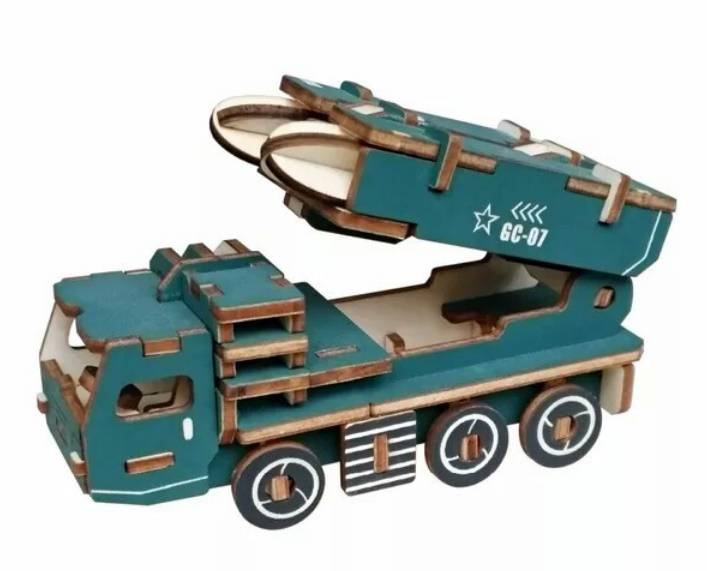 طرح کامیون راکت انداز