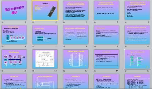 پاورپوینت لاتین   Microcontroller