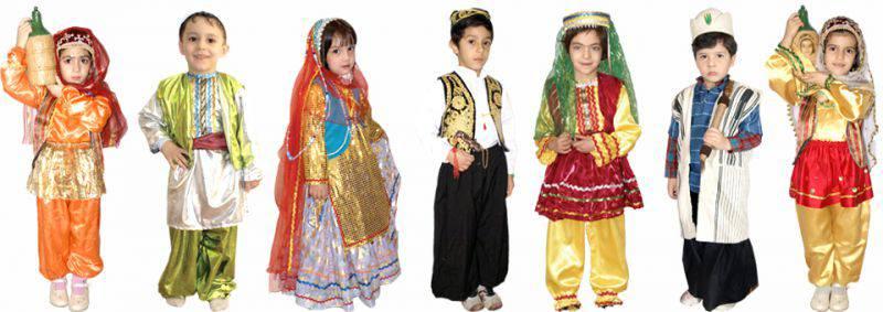 انواع پوشاک محلی