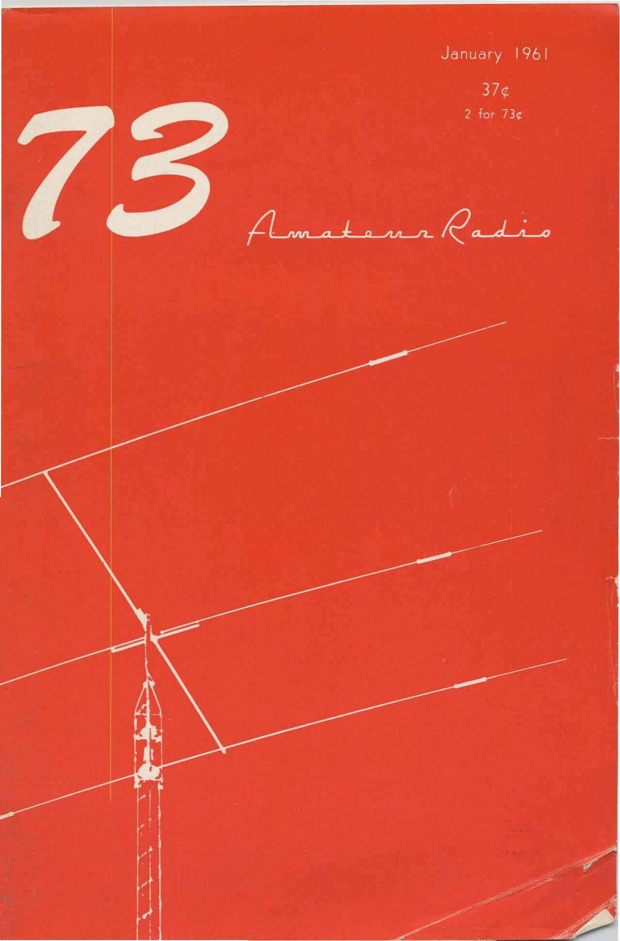 مجله رادیو آماتور شماره اول 1961
