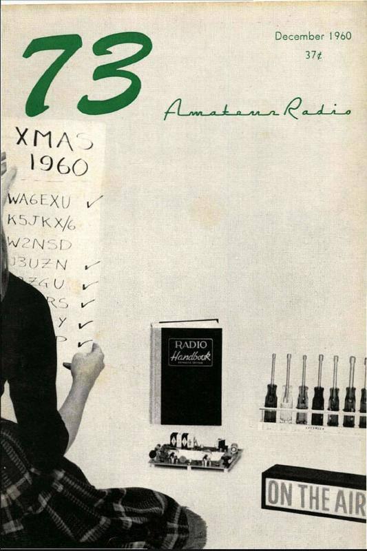 مجله رادیو آماتور شماره سوم 1960