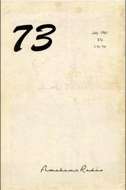 مجله رادیو آماتور شماره هفتم 1961