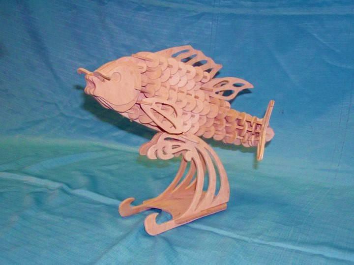 طرح ماهی پایه دار