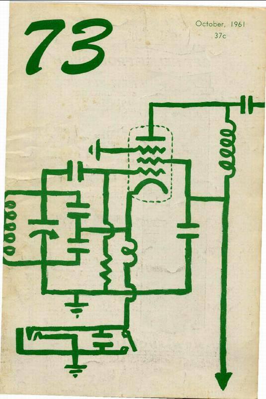 مجله رادیو آماتور شماره دهم 1961