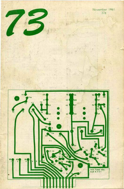 مجله رادیو آماتور شماره یازدهم 1961