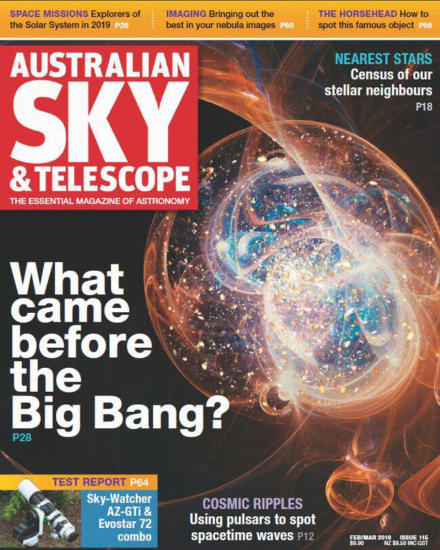مجله Australian Sky & Telescope – February 2019