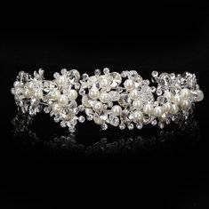 آموزش تاج عروس با گل کریستال