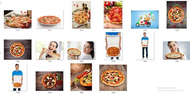 عکس و وکتور و تصویرسازی پیتزا