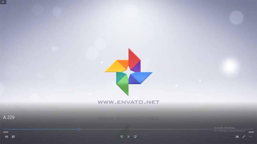 پروژه افتر افکت نمایش لوگو به سبک موشن