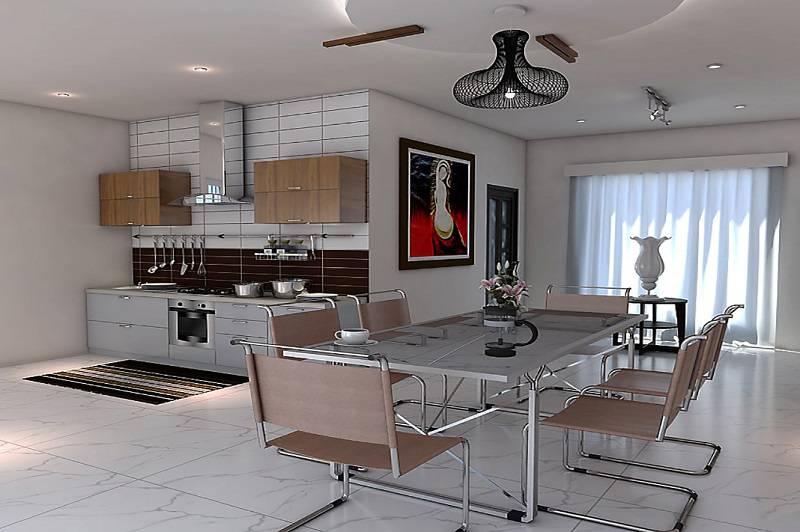 دانلود مدل آشپزخانه در اسکچاپ