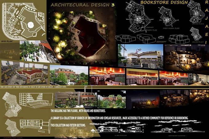 دانلود پروژه کامل شهر کتاب