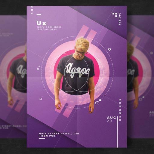 پوستر طراح وب و گرافیست