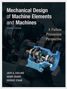 دانلود حل المسائل کتاب طراحی مکانیکی ماشین ها و قطعات ماشین جک کولینز