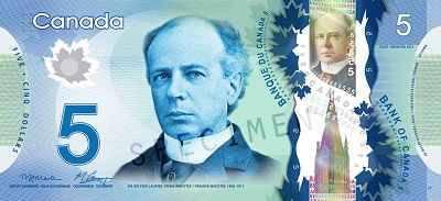 5 دلار کانادا
