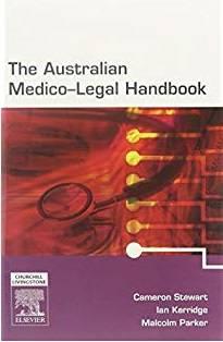 The Australian Medico Legal Handbook