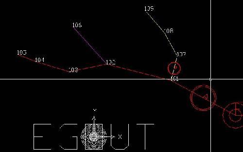 راهنمای فارسی استفاده از نرم افزار EGOUT در طراحی شبکه فاضلاب