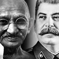 مقاله گاندی و استالین