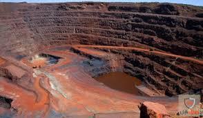 پایان نامه گزارش بازديد از معدن آهن چغارت وفسفات اسفوردي