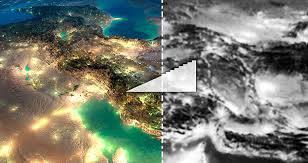 تحقیق چگونگی استفاده از عکس های هوایی و تصاویر ماهواره ای