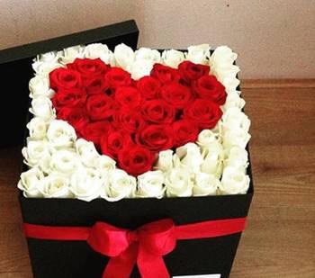 باکس هدیه و گل در 3 سایز(3 فایل در یک فایل)