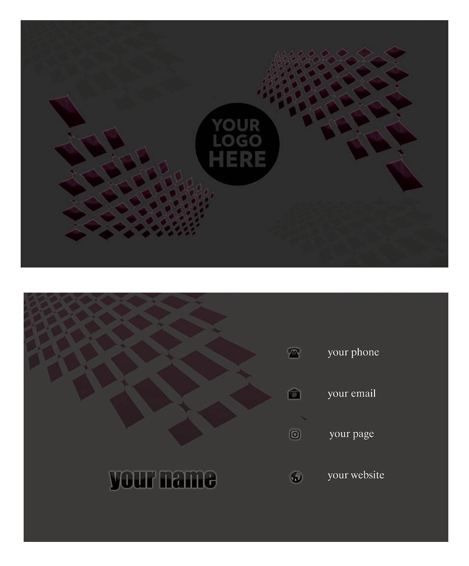 کارت ویزیت لایه باز 01