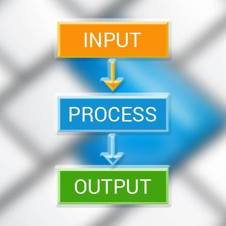 تحقیق مدیریت ورودی ها و خروجی ها