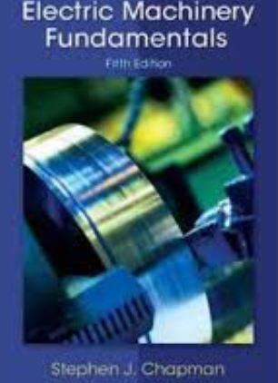دانلود حل تمرین ماشین های الکتریکی چاپمن  Stephen Chapman