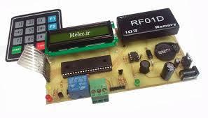 پایان نامه ساخت درب هوشمند با AVR