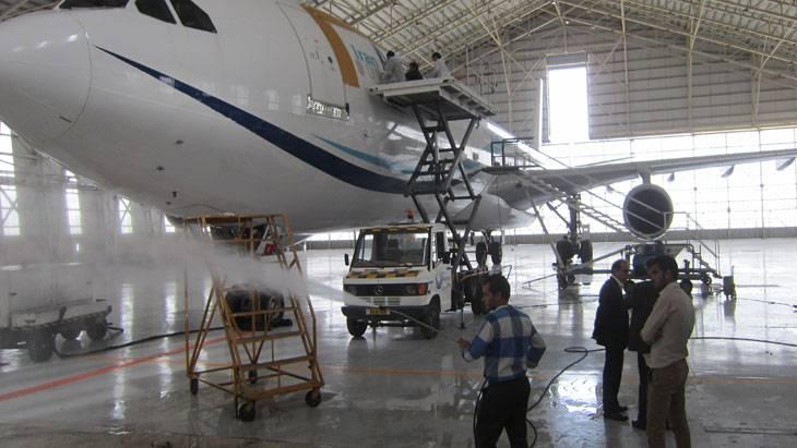 6 فرمول جهت شست و شوی بدنه هواپیما