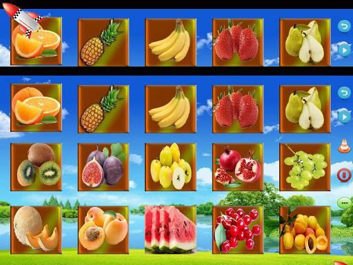 نرم افزار آموزش میوه ها