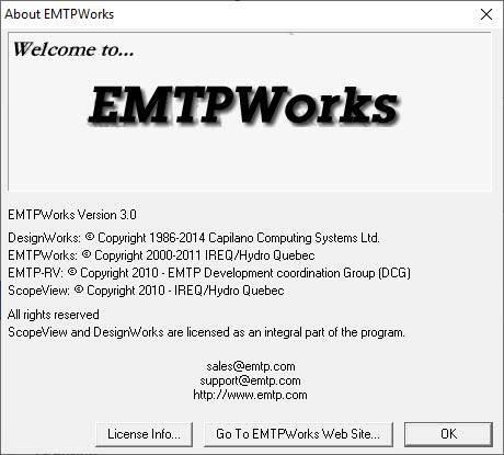 نرمافزار EMTP_RV Ver3.0