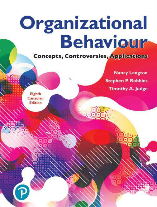 دانلود کتاب Organizational Behavior: Concepts, Controversies, Applications