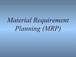 آشنایی با برنامه ریزی مواد MRP