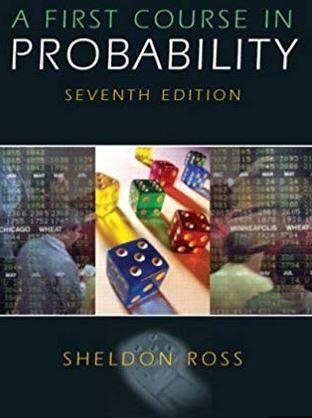 دانلود حل المسائل کتاب اصول اولیه احتمالات شلدون روس Sheldon Ross